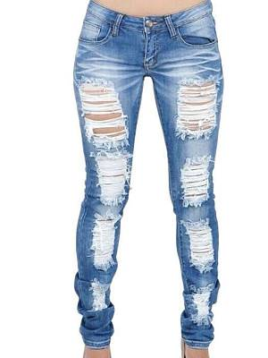 Berrylook Fashion new big ripped casual jeans clothes shopping near me, fashion store, hue leggings, printed leggings