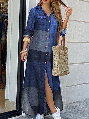 Berrylook Long Sleeve Printed Shirt Dress clothes shopping near me, sale, petite dresses, lace maxi dress