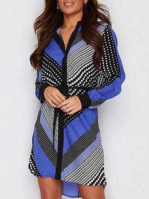Berrylook Autumn and winter new style printed long-sleeved shirt fashion tie dress clothes shopping near me, shoppers stop, linen dress, shift dress pattern