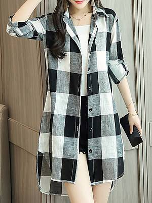 Berrylook Plaid Shirt Jacket clothes shopping near me, online stores, brown leather jacket womens, winter jacket