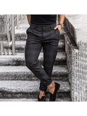 Berrylook MenS Striped Casual Trousers online shop, clothes shopping near me,