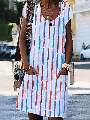 Berrylook Round Neck Floral Printed Shift Dress sale, online, shift dress, petite dresses