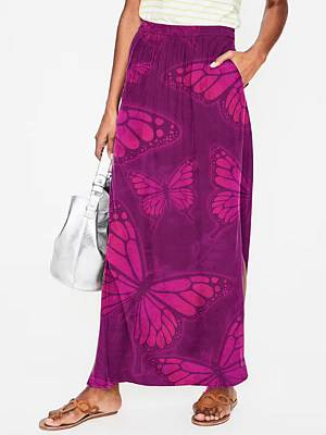 Berrylook Fashion butterfly print skirt sale, clothes shopping near me,
