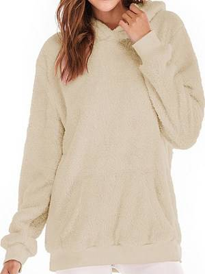 Berrylook Hooded Sweater Padded Sweater online, clothes shopping near me,