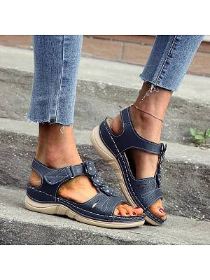 Berrylook Thick sole mother shoes flower sandals online, stores and shops,