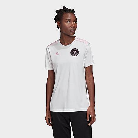 Adidas Women's Inter Miami CF MLS Home Soccer Jersey in White/White Size X-Small