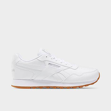 Reebok Women's Classic Harman Run Casual Shoes in White/White Size 6.5 Leather