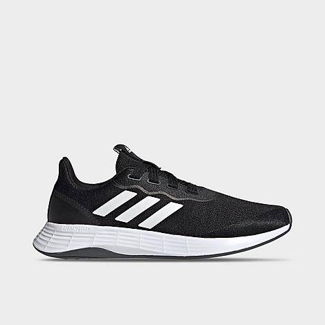 Adidas Women's QT Racer Sport Casual Shoes in Black/Black Size 5.0 Leather/Plastic
