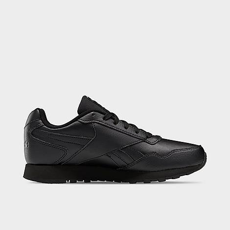 Reebok Women's Classic Harman Run Casual Shoes in Black/Black Size 10.0 Leather