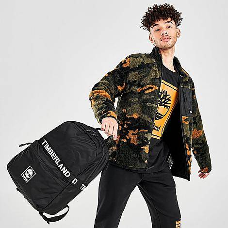 Timberland Sport Leisure Backpack in Black/Black 100% Nylon/Polyester