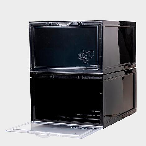 Crep Protect Crates Sneaker Storage Box in Black/None