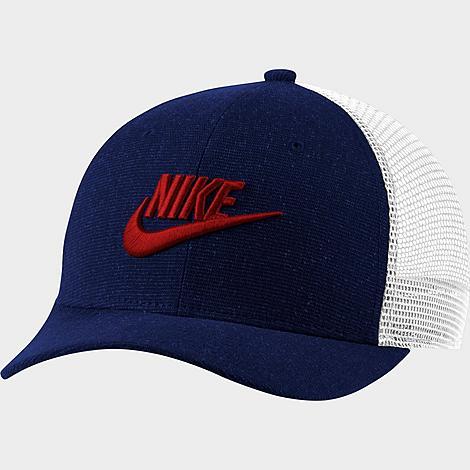 Nike Sportswear Classic 99 Trucker Hat in Blue/Blue Void Cotton/100% Polyester/Knit
