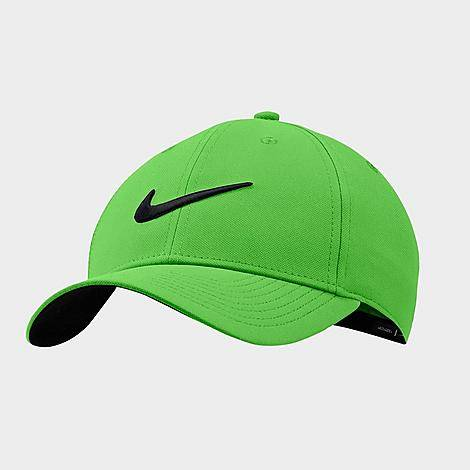 Nike Dri-FIT Legacy91 Adjustable Training Hat in Green/Mean Green 100% Cotton/100% Polyester