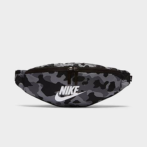 Nike Heritage 2.0 Camo Hip Pack in Grey/Camo/Black 100% Polyester