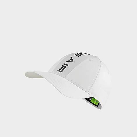 Nike Air Legacy 91 Snapback Hat in White/White 100% Polyester