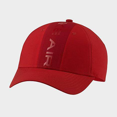 Nike Air Legacy 91 Snapback Hat in Red/University Red 100% Polyester