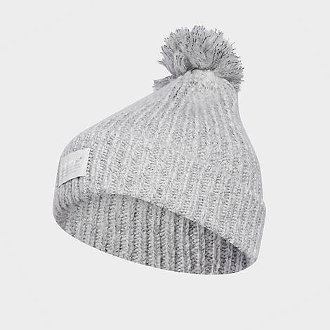 Adidas Women's Originals Nova 2 Beanie Hat in Grey/Medium Heather Grey Polyester/Acrylic/Knit