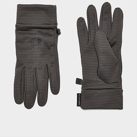 The North Face Inc Fashdry™ Liner Gloves in Grey/Asphalt Grey Size Large 100% Polyester/Fleece