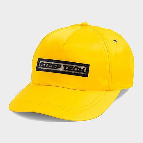 The North Face Inc Men's Steep Tech Hook-and-Loop Hat in Yellow/Lightning Yellow 100% Nylon/Polyester