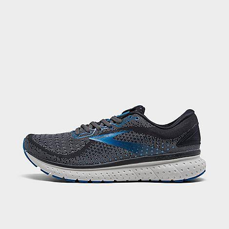 Brooks Men's Glycerin 18 Running Shoes in Grey/Black Size 9.5 Jacquard