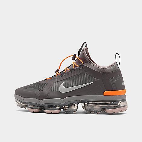 Nike Men's Air VaporMax 2019 Utility Running Shoes in Grey/Thunder Grey Size 9.0