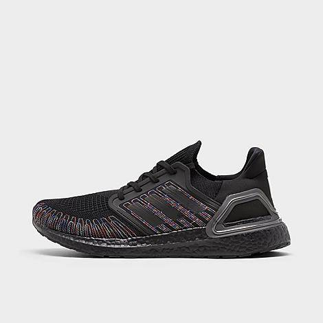 Adidas Men's UltraBOOST 20 Running Shoes in Black/Black Size 7.5 Knit