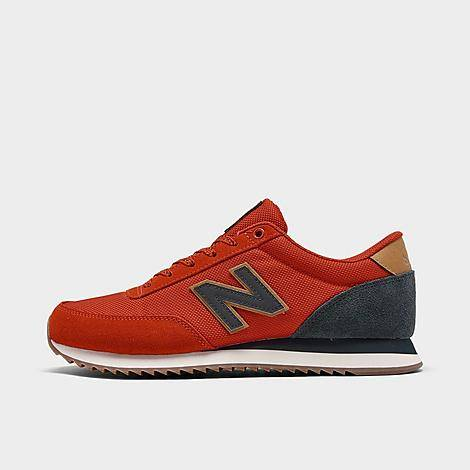 New Balance Men's 501 Outdoor Ripple Casual Shoes in Red/Red Size 10.0 Suede