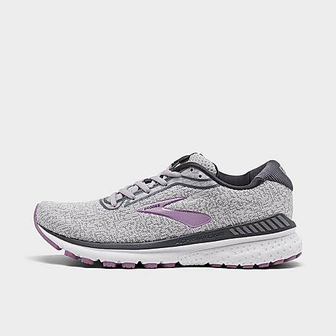 Brooks Women's Adrenaline GTS 20 Running Shoes in Grey/Grey Size 11.0