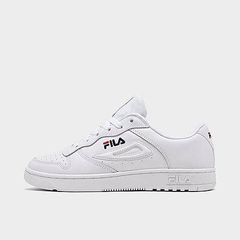 Fila Women's FX 100 Low Casual Shoes in White/White Size 8.5 Leather
