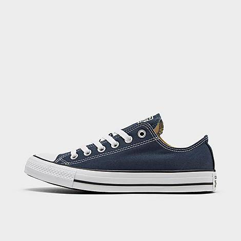 Converse Women's Chuck Taylor Low Top Casual Shoes in Blue/Navy Size 9.0 Canvas