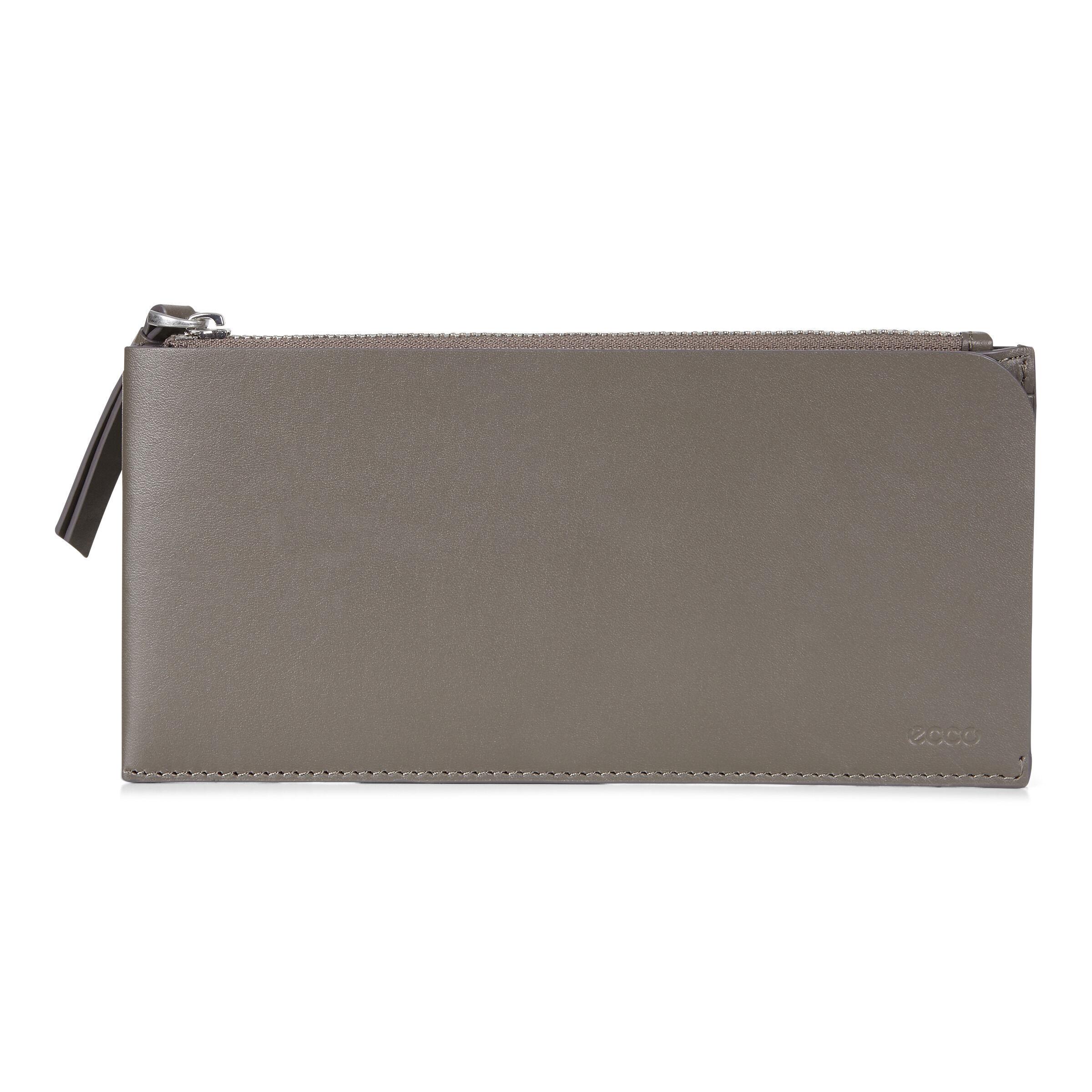ECCO Geometrik Travel Wallet: One Size - Warm Grey