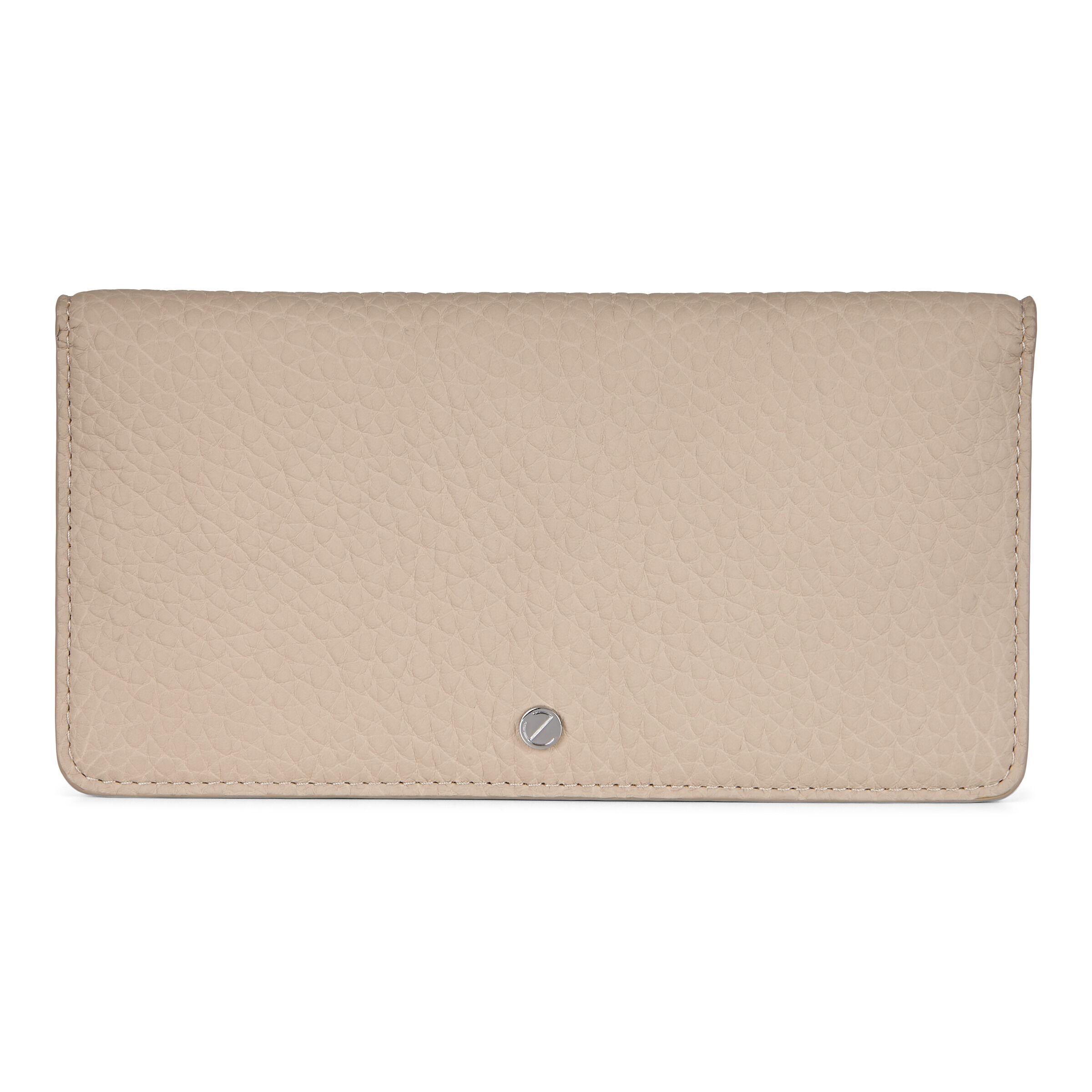 ECCO Jilin Tandem Large Wallet: One Size - Beige