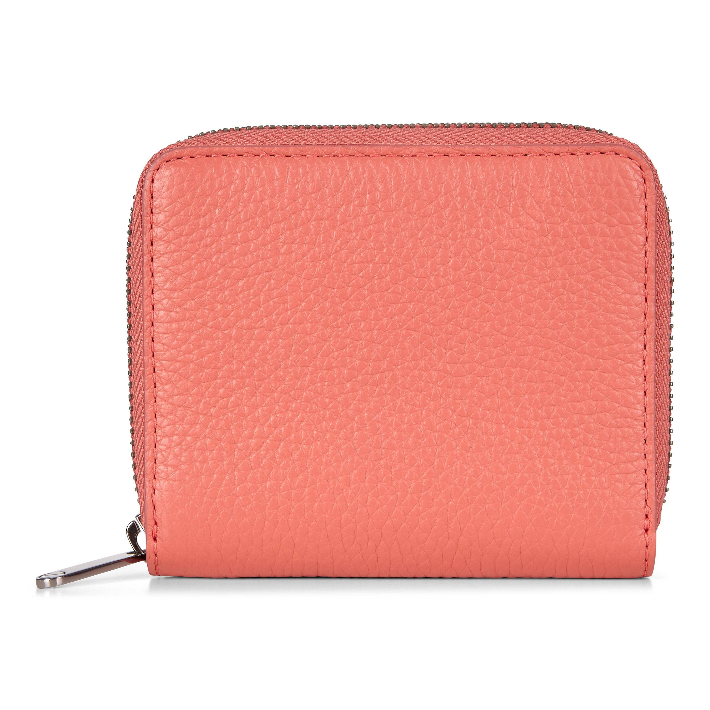 ECCO Sp 3 Small Zip Around Wallet: One Size - Apricot