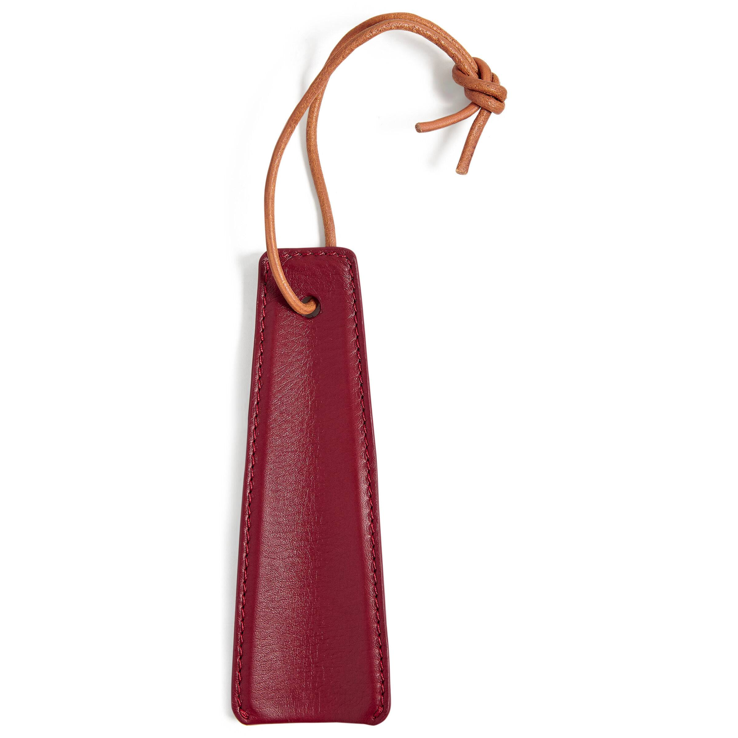 ECCO Leather Shoe Horn: One Size - Syrah