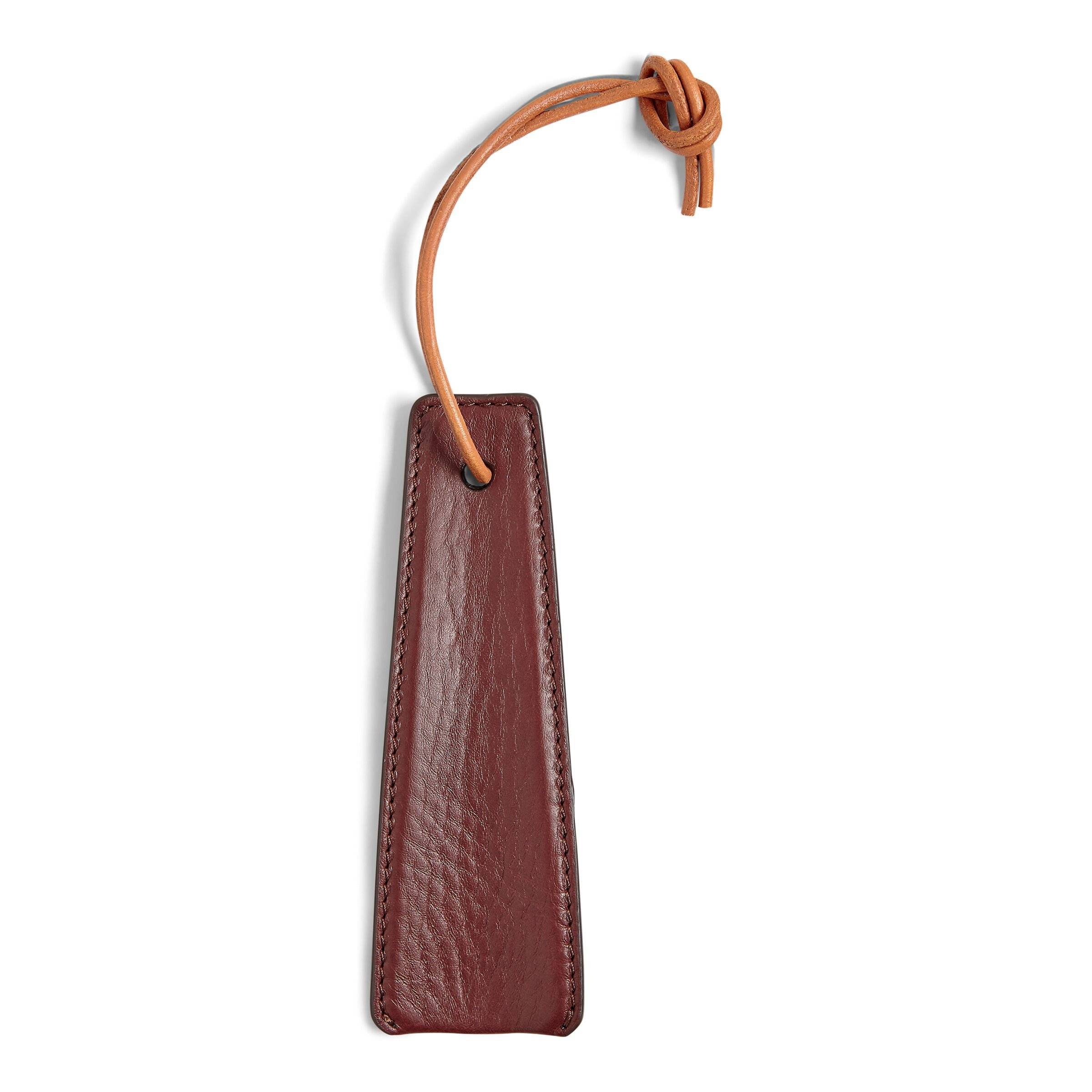 ECCO Leather Shoe Horn: One Size - Chocolate
