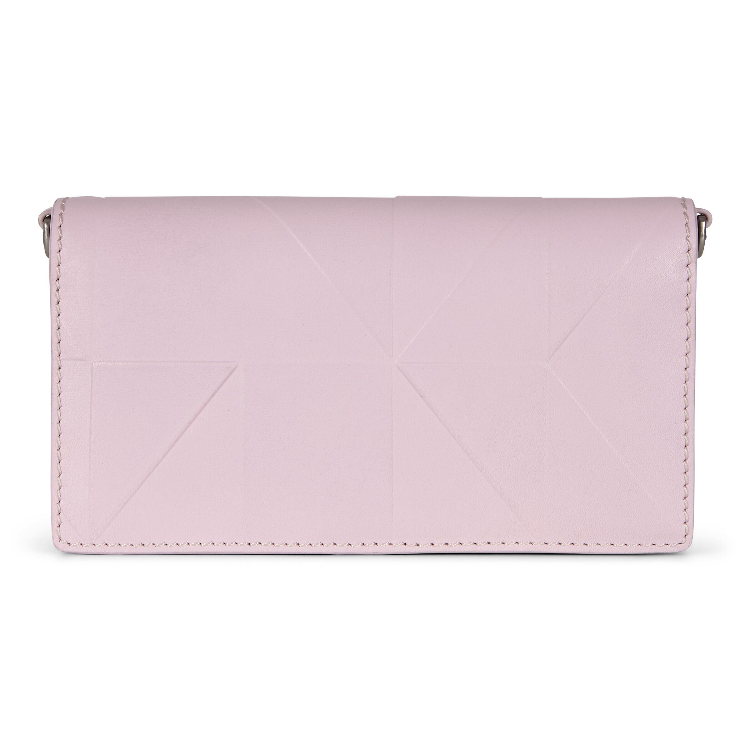 ECCO Geometrik Crossbody Wallet: One Size - Blossom Rose
