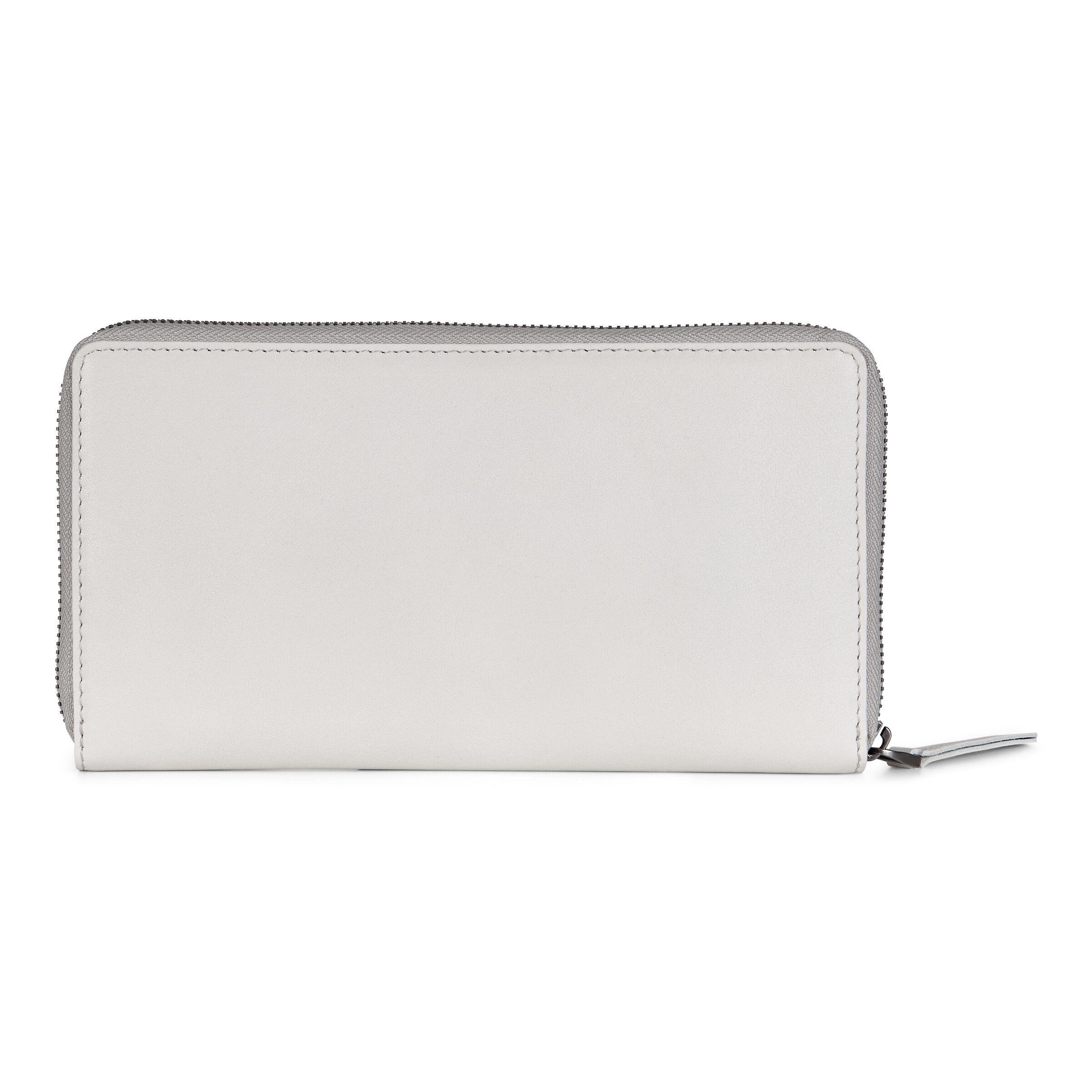 ECCO Casper Travel Wallet: One Size - Offwhite
