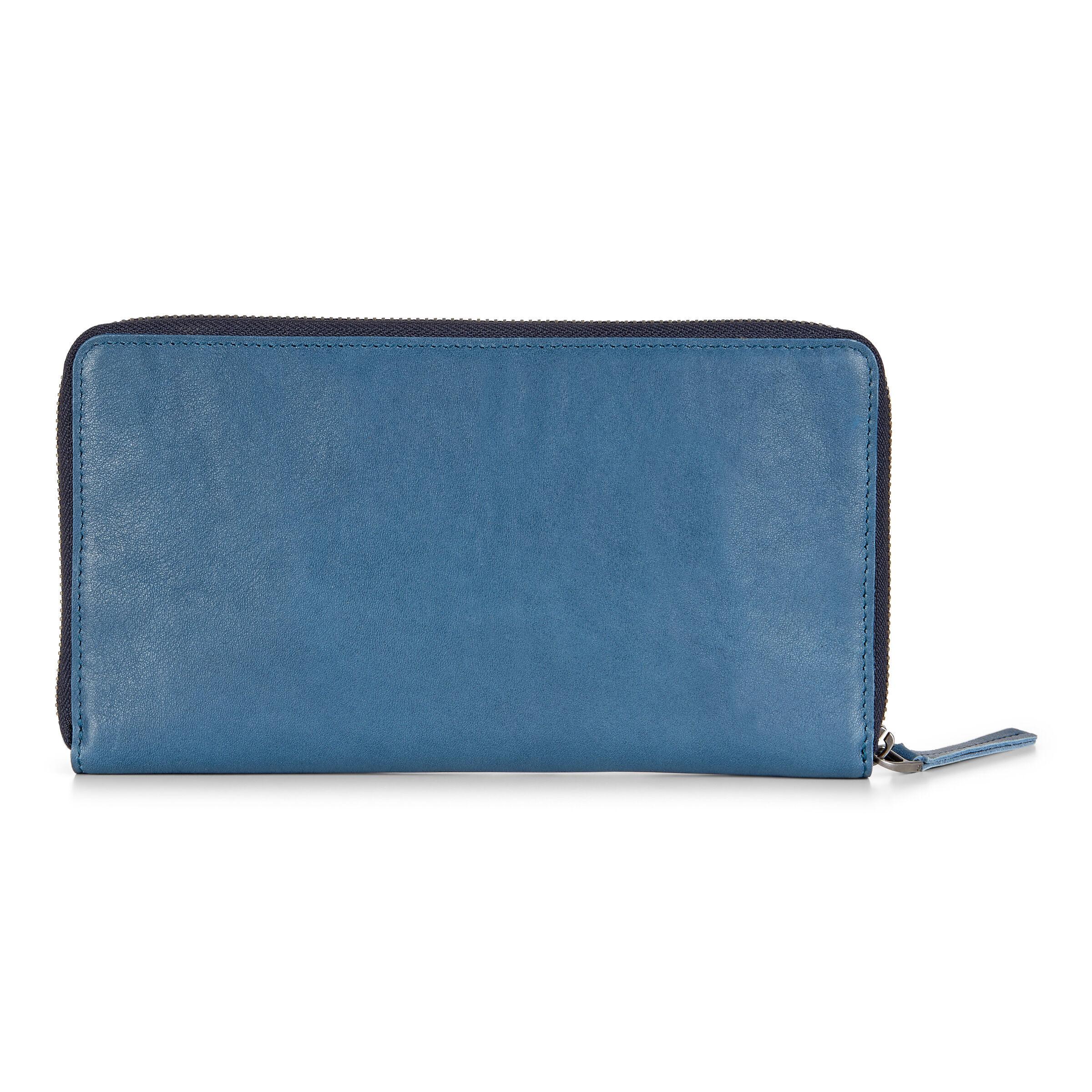 ECCO Casper Travel Wallet: One Size - Retro Blue