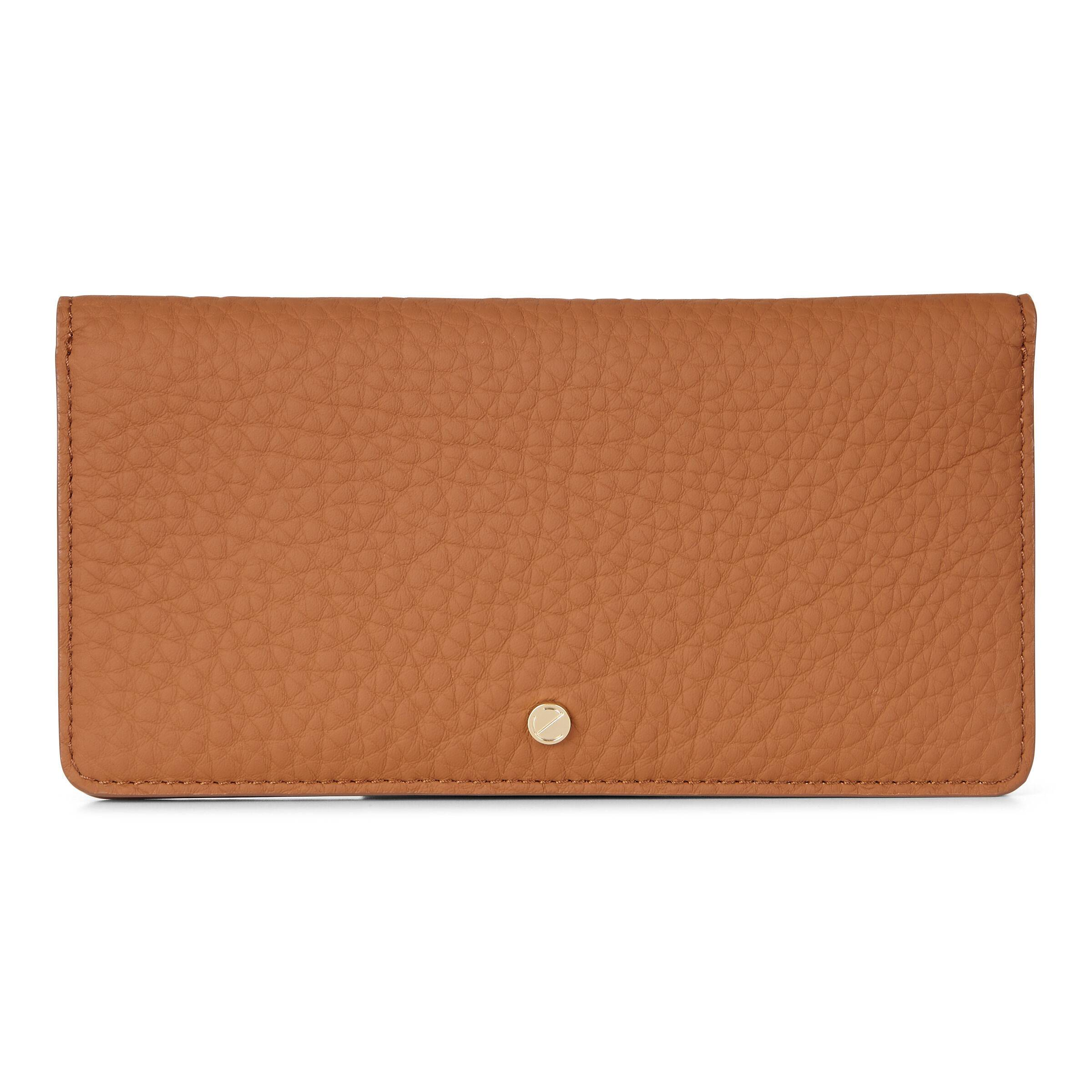 ECCO Jilin Tandem Large Wallet: One Size - Amber