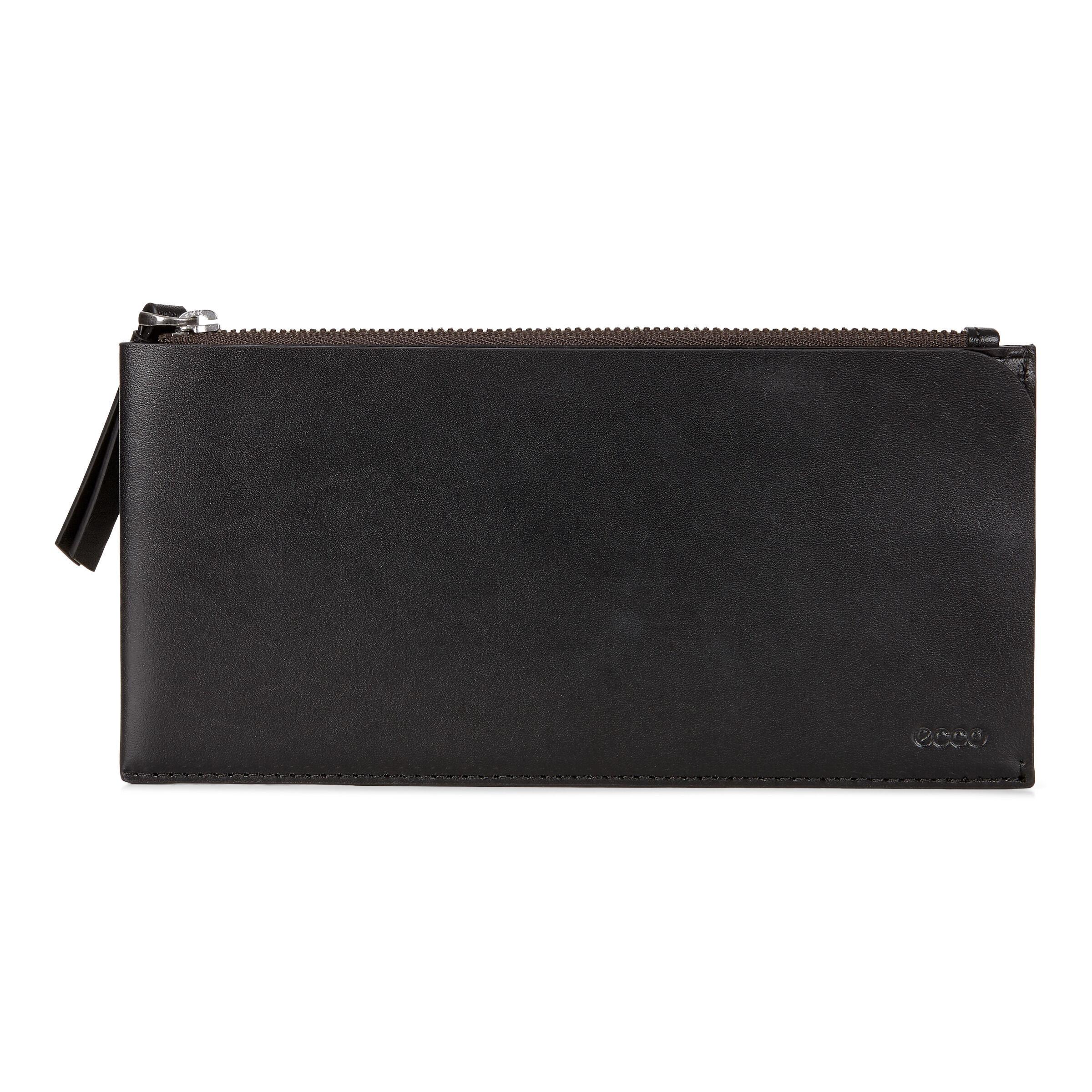 ECCO Geometrik Travel Wallet: One Size - Black