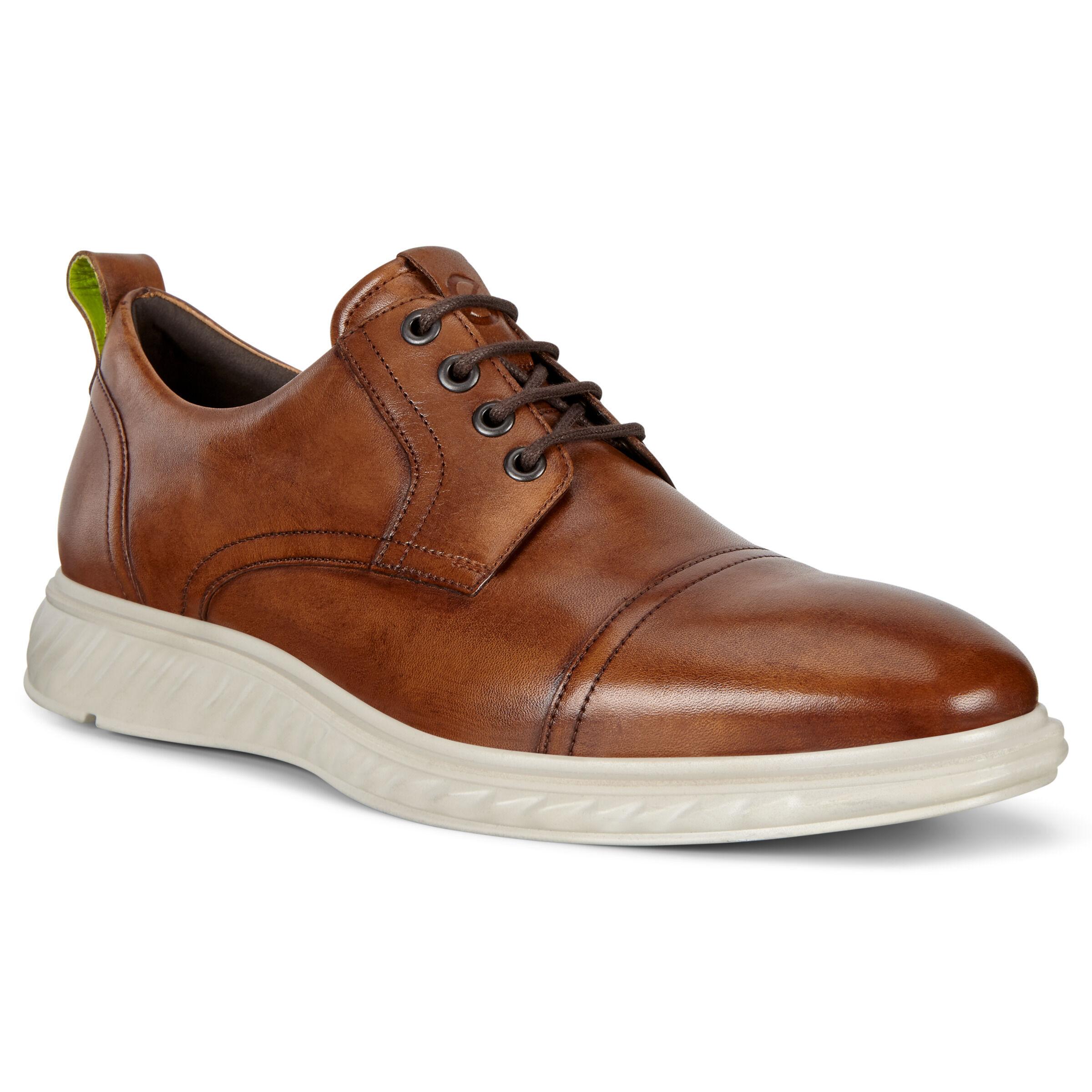 ECCO St. 1 Hybrid Lite Mens Shoes: 10 - Amber