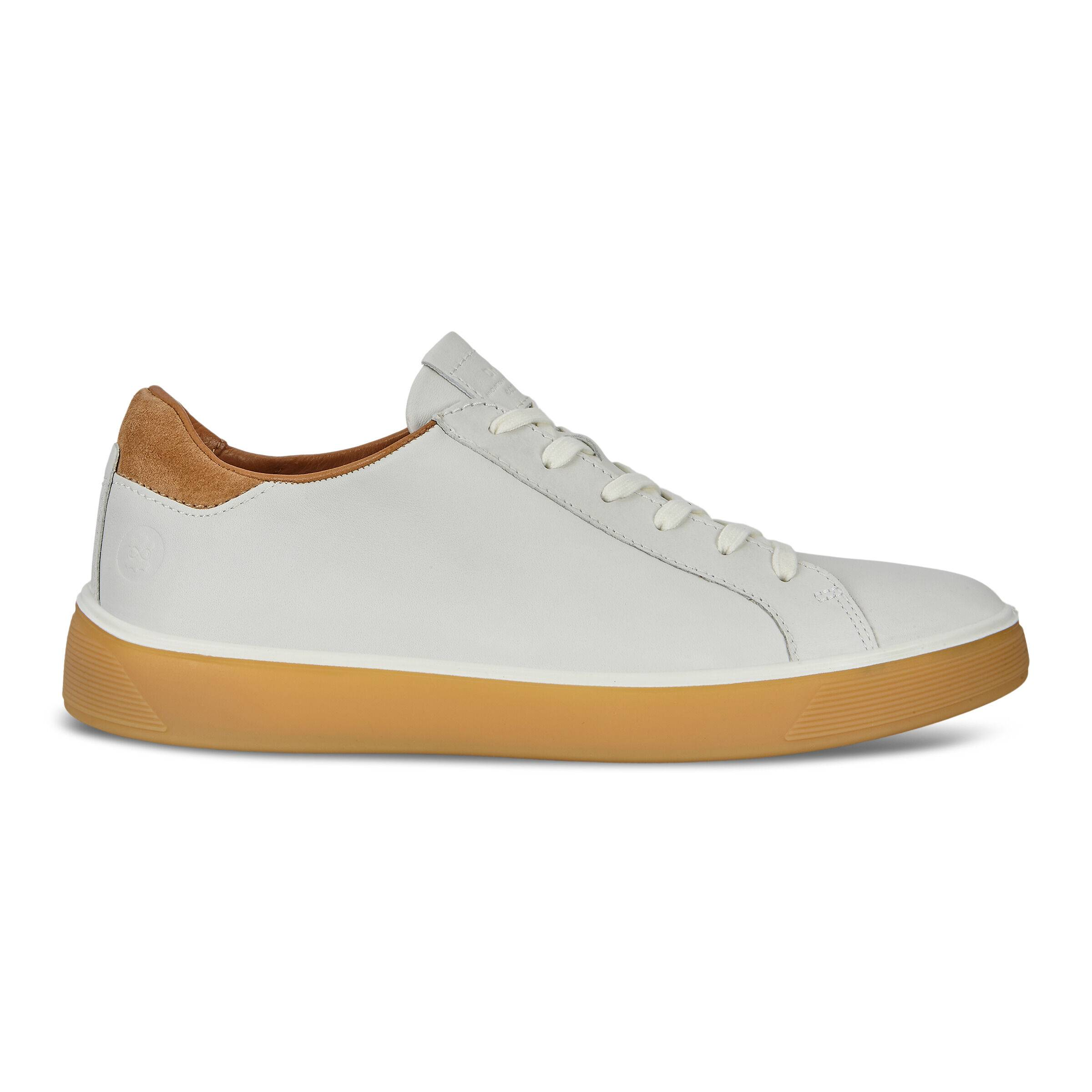 ECCO Street Tray Mens Shoes Sneakers size  : 12 - White