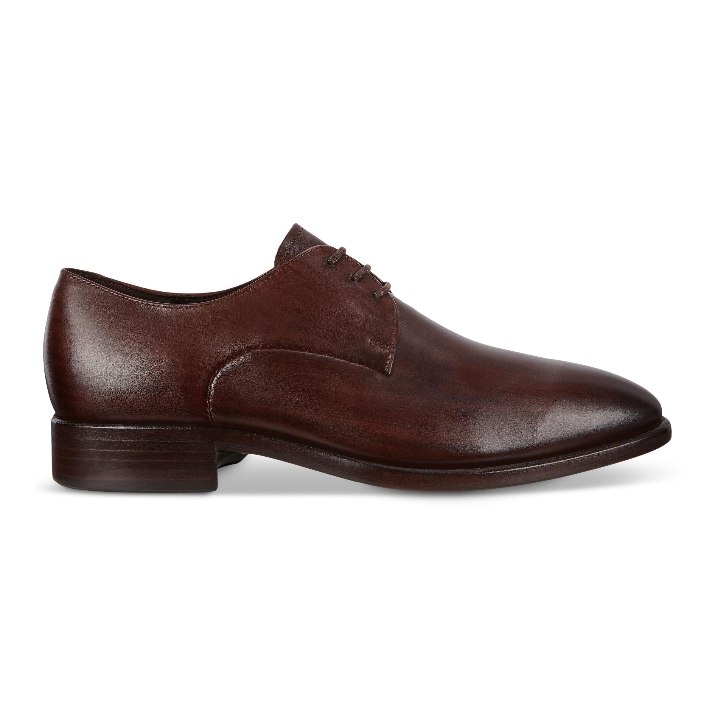 ECCO Vitrus Mondial Mens Shoes: 8 - Cocoa Brown