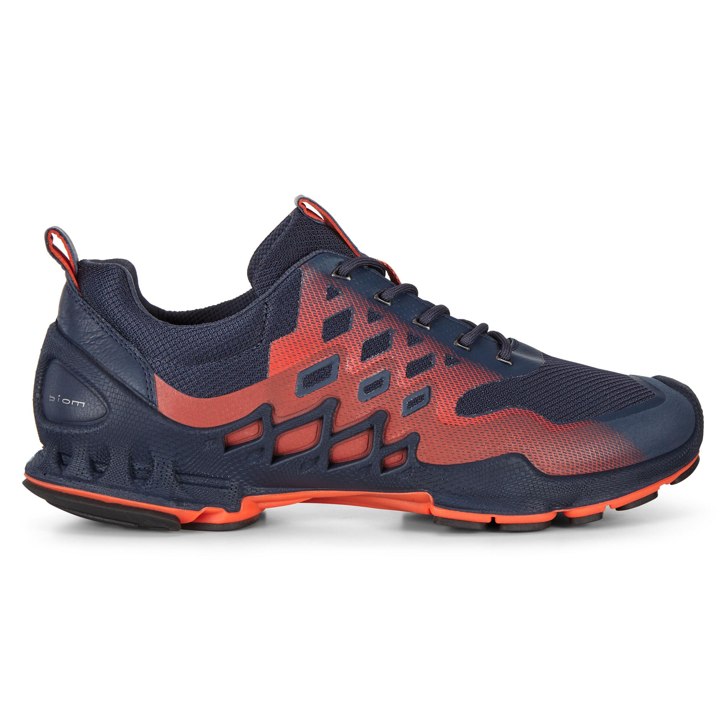 ECCO BIOM Aex Mens Low Two-tone Shoes: 6 - Marine