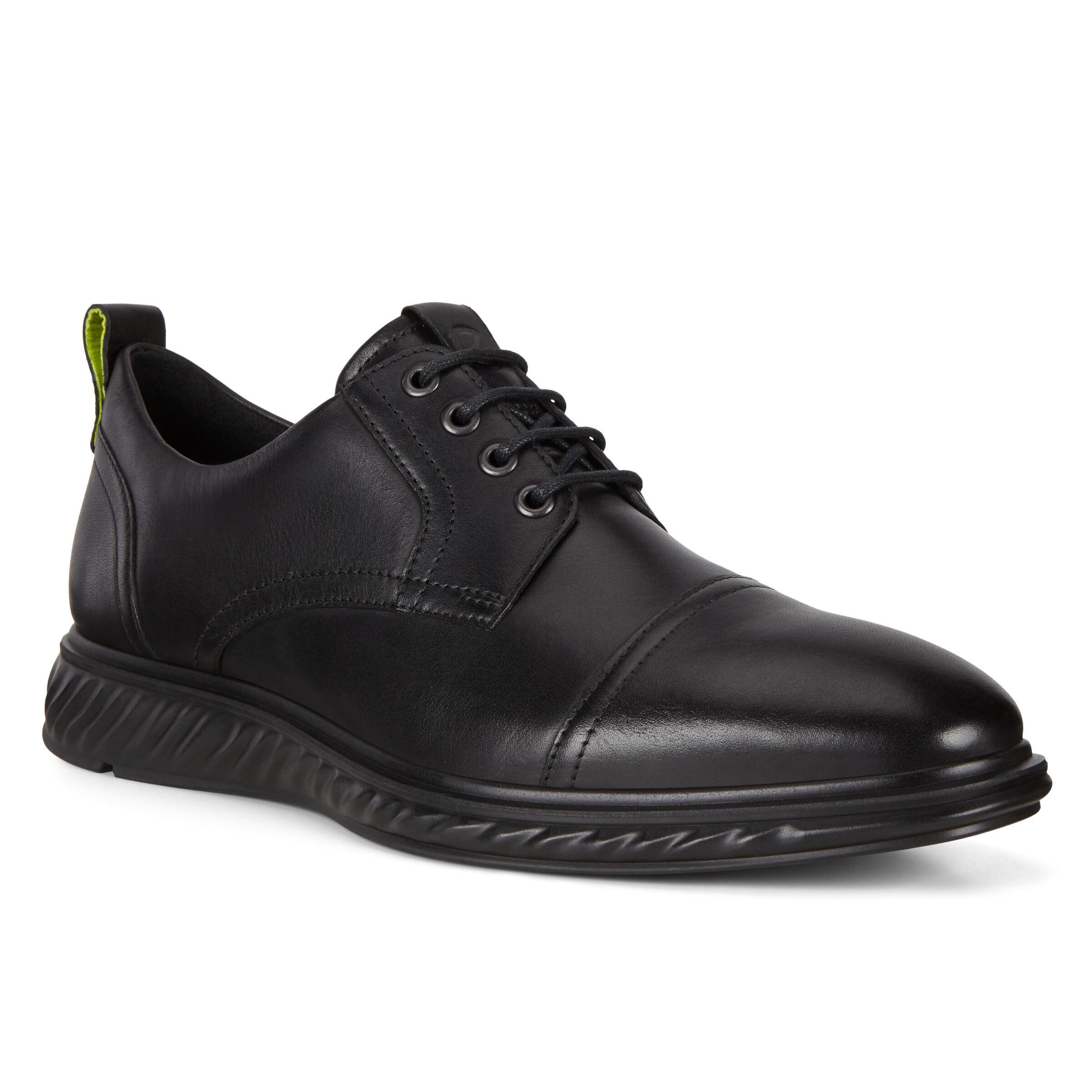 ECCO St. 1 Hybrid Lite Mens Shoes: 7 - Black