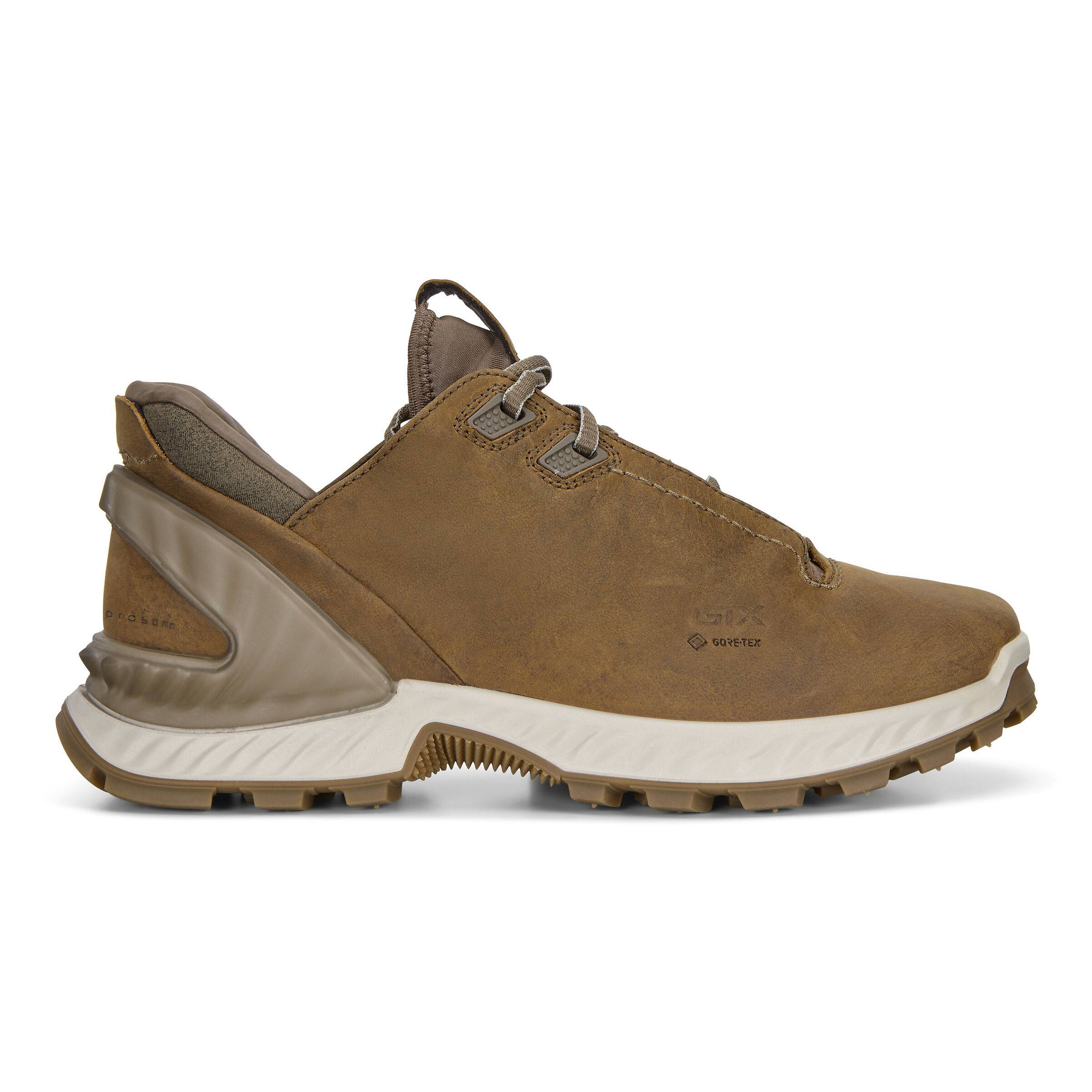 ECCO Exohike Mens Low GTX Shoes: 9 - Cayote
