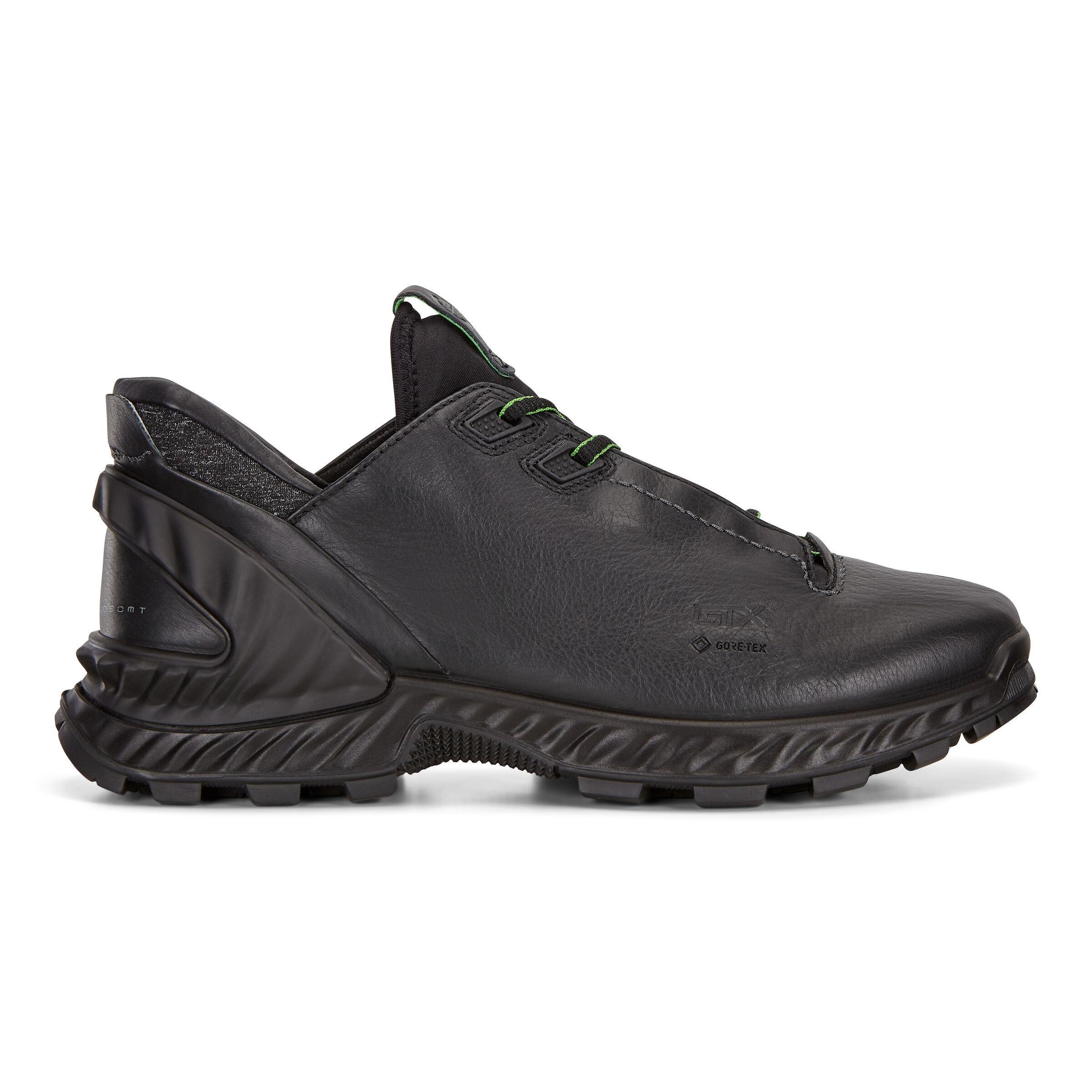 ECCO Exohike Mens Low GTX Shoes: 9 - Black