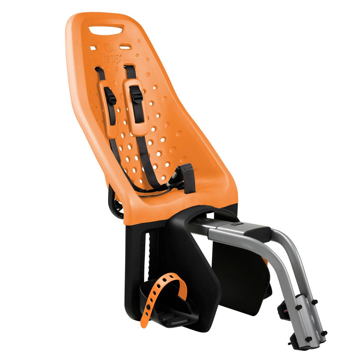YEPP Thule Yepp Maxi Child Bike Seat, Seat Post, Orange