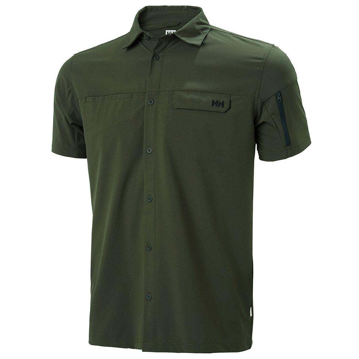 Helly Hansen Men's Short-Sleeve Verven Shirt - Size XL