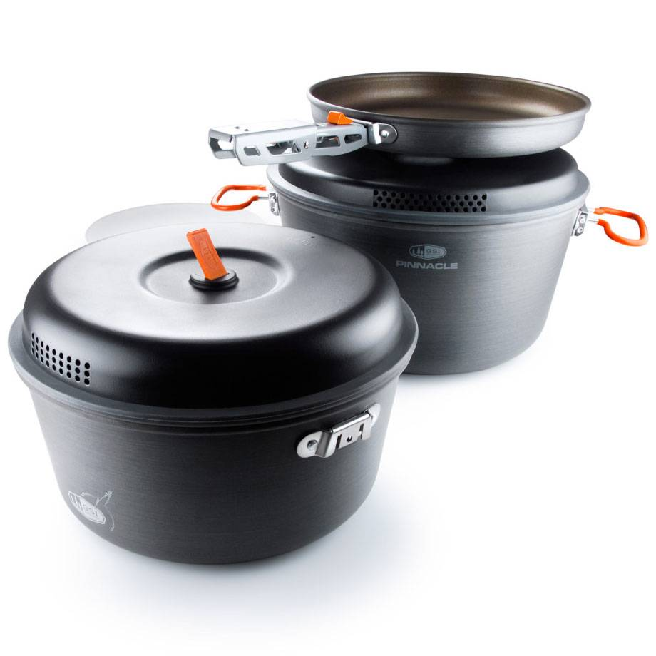OUTSIDE INSIDE Gsi Pinnacle Base Camper Cookset, Large